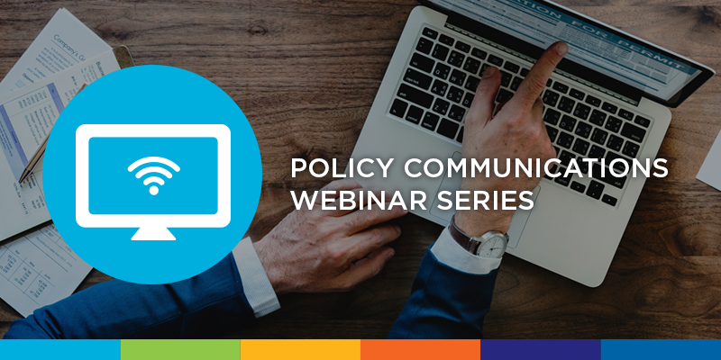 policy communications webinar graphic