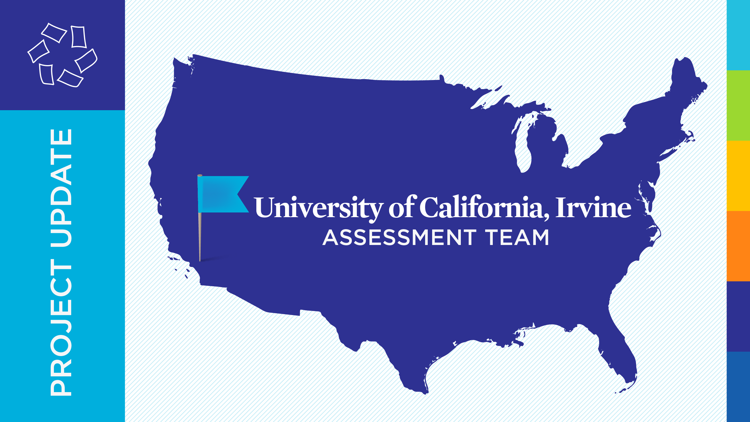 UCI project update map