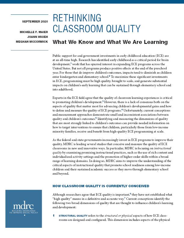 2020-Policy-Brief-Rethinking-Classroom-Quality