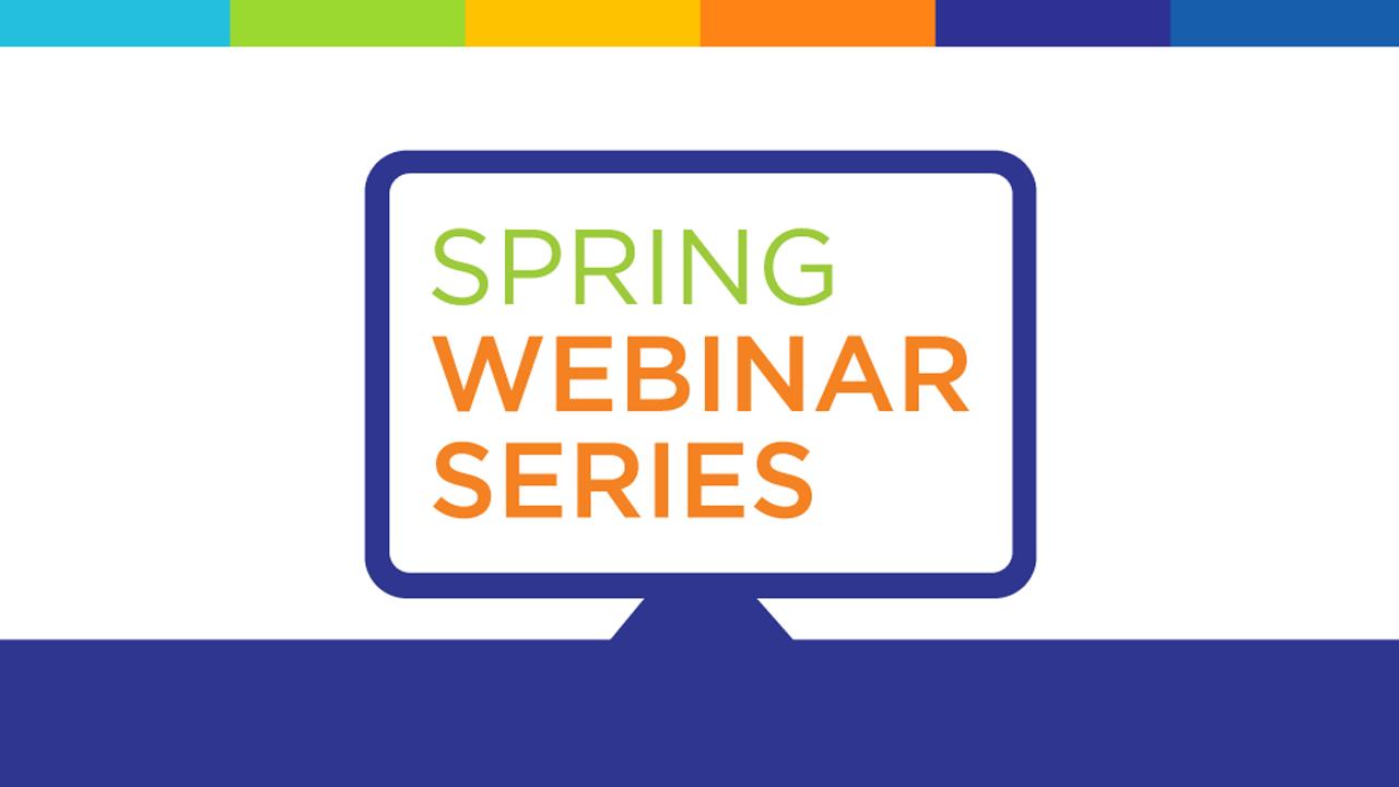 ELN Spring Webinar Series graphic